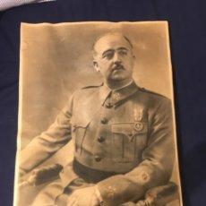 Militaria: FOTO RETRATO DEL CAUDILLO FRANCO EPOCA GUERRA CIVIL 1939. Lote 287954953