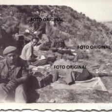 Militaria: REQUETES ALCORISA (TERUEL) FRENTE ARAGON RUMBO MORELLA CASTELLON GUERRA CIVIL. Lote 288002483
