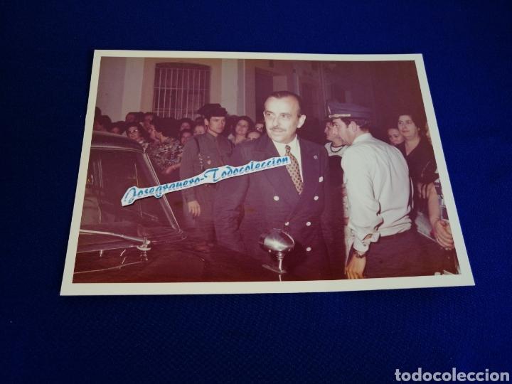 GOBERNADOR CIVIL DE ALICANTE ÉPOCA FRANQUISTA DON BENITO SAEZ GONZALEZ ELIPE 1973-76- GUARDIA CIVIL (Militar - Fotografía Militar - Otros)
