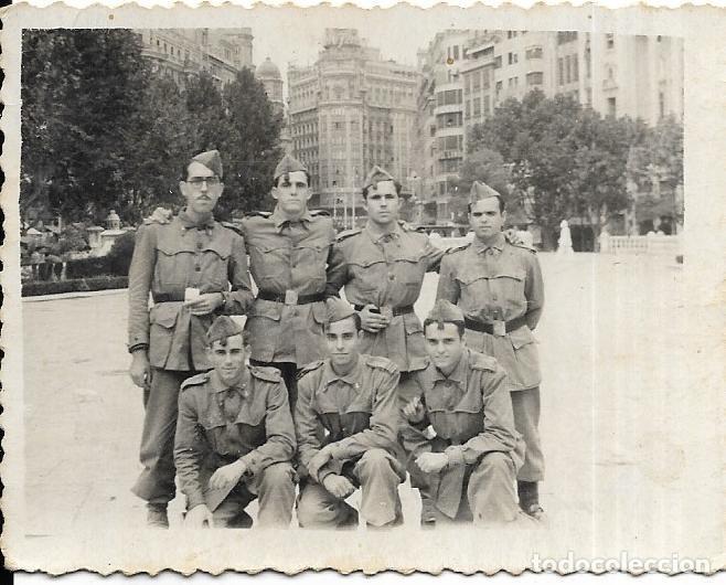 *** CU63 - FOTOGRAFIA - GRUPO DE SOLDADOS (Militar - Fotografía Militar - Otros)