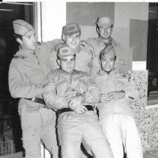 Militaria: *** CU88 - FOTOGRAFIA - GRUPO DE SOLDADOS. Lote 288065673