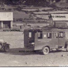 Militaria: AMBULANCIA ITALIANA CTV GUERRA CIVIL TRANSPORTE HERIDOS BATALLAS. Lote 288511793