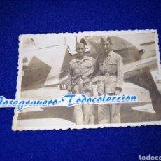 Militaria: SOLDADOS AVIACION ESPAÑOLA FOTOGRAFIA. Lote 288512843