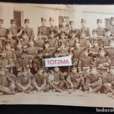 Militaria: ANTIGUA FOTOGRAFÍA MILITAR 23CM X 14,5CM. Lote 288898528