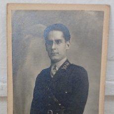 Militaria: FOTO OFICIAL CARABINEROS AÑOS 30, ORIGINAL, GUERRA CIVIL, REPÚBLICA ESPAÑOLA, VED FOTOS. Lote 289549963