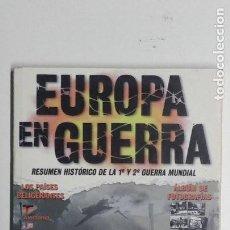 Militaria: EUROPA EN GUERRA. RESUMEN HISTÓRICO DE LA 1ª Y 2ª GUERRA MUNDIAL - CRESPO, JULIO. Lote 289862568