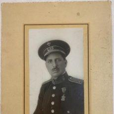 Militaria: FOTOGRAFÍA DE GUARDIA - POLICIA URBANA DE MADRID - ÉPOCA ALFONSO XIII - FIRMADA Y DEDICADA EN 1929. Lote 290955798