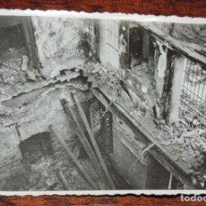 Militaria: FOTOGRAFIA DE BOMBARDEO SOBRE MADRID GUERRA CIVIL, FEBRERO 1937, IGLESIA DE SAN LUIS, MIDE 11,3 X 8,. Lote 291396683