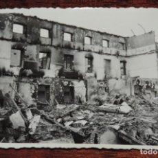 Militaria: FOTOGRAFIA DE BOMBARDEO SOBRE MADRID GUERRA CIVIL, FEBRERO 1937, CALLE COSTANILLA ANGELES 14, MIDE 1. Lote 291396743
