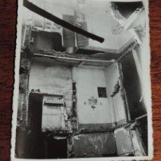 Militaria: FOTOGRAFIA DE BOMBARDEO SOBRE MADRID GUERRA CIVIL, FEBRERO 1937, CALLE CAVA BAJA N.1, MIDE 11,3 X 8,. Lote 291397128