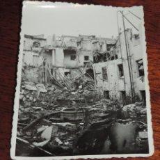 Militaria: FOTOGRAFIA DE BOMBARDEO SOBRE MADRID GUERRA CIVIL, FEBRERO 1937, CONVENTO DEL FUCAR, MIDE 11,3 X 8,7. Lote 291397618