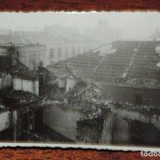 Militaria: FOTOGRAFIA DE BOMBARDEO SOBRE MADRID GUERRA CIVIL, FEBRERO 1937, CINE OPERA, MIDE 11,3 X 8,7 CMS. VE. Lote 291397803