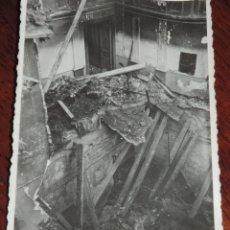 Militaria: FOTOGRAFIA DE BOMBARDEO SOBRE MADRID GUERRA CIVIL, FEBRERO 1937, IGLESIA SAN LUIS, MIDE 11,3 X 8,7 C. Lote 291402318