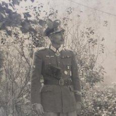 Militaria: FOTOGRAFIA DE OFICIAL ALEMAN CRUZ DE CABALLERO CON HOJAS DE ROBLE. Lote 293239918