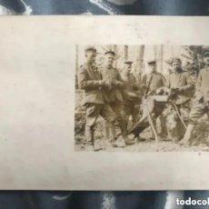 Militaria: LOTE ANTIGUAS FOTOGRAFÍAS POSTALES MILITAR SOLDADO FRANCÉS - 1914. Lote 293358388
