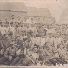 Militaria: CARTA POSTAL DE UN SOLDADO ALEMAN DE LA PRIMERA GUERRA MUNDIAL- JUNIO 1915. Lote 293421338