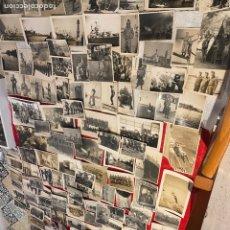 Militaria: SÚPER LOTE DE 184 FOTOGRAFÍA MILITARES ORIGINALES PARACAIDISTAS Y PILOTOS ALCÁNTARILLA MURCIA . VER. Lote 293548608