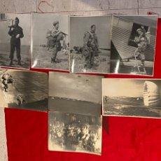 Militaria: LOTE DE 8FOTOGRAFÍA MILITARES ORIGINALES PARACAIDISTAS EN ALCÁNTARILLA MURCIA . TAMAÑO GRANDE. Lote 293557188