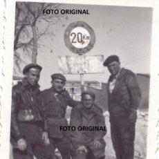 Militaria: FOTO ICONICA TERUEL CONQUISTA 1938 REQUETES BANDO NACIONAL GUERRA CIVIL. Lote 294579473