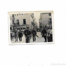 Militaria: ANTIGUA FOTOGRAFIA SOLDADOS REQUETES - DESFILE CARLISTA - TRADICIONALISTA - VALENCIA - V-13. Lote 296784998
