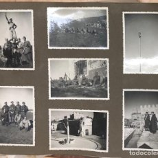 Militaria: FANTASTICO ALBUM FOTOGRAFICO TERCIO ORTIZ DE ZARATE. GUERRA CIVIL. CARLISMO. Lote 296790578