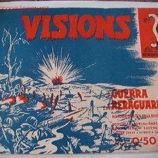 Militaria: CUADERNO VISIONS DE LA GUERRA I REREGUARDA.. Lote 23830744