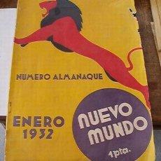 Militaria: ALMANAQUE 1932, CON LOS MESE DE LA REVOLUCION FRANCESA. Lote 8159057