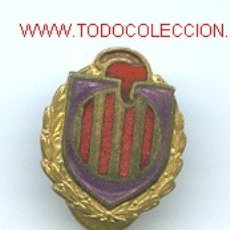 Militaria: INSIGNIA CATALUÑA. GUERRA CIVIL. Lote 26959979