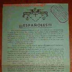 Militaria: FOLLETO DEL COMITÉ PRO-AVIONES, EN CATALÁN, 1937. Lote 2487439