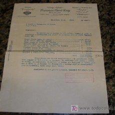 Militaria: FRANCISCO FARRE ROIG CAMIONES BROCKWAY 1937 EMPRESA COLECTIVIZADA. Lote 10351547