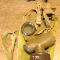 Militaria: MÁSCARA ITALIANA, T35 I. Lote 5006493