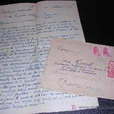 Militaria: CARTA GUERRA CIVIL , 1938. Lote 5380084