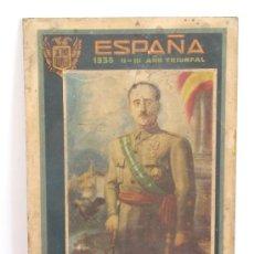 Militaria: CARTEL ANTIGUO DE FRANCO. Lote 26049507