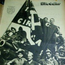 Militaria: EL DIA GRÁFICO - GUERRA CIVIL - LOTE DE 60 REVISTAS - JULIO - AGOSTO - SEPTIEMBRE - OCTUBRE - 1936. Lote 23849686