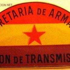 Militaria: DISTINTIVO DE PAPEL PARA TELÉFONO DE CAMPAÑA.. Lote 7011570