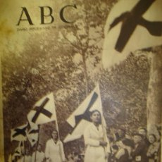 Militaria: DIARIO REPUBLICANO DE IZQUIERDA ABC. GUERRA CIVIL. 9 ABRIL 1937. VER DESCRIPCION. Lote 14459796