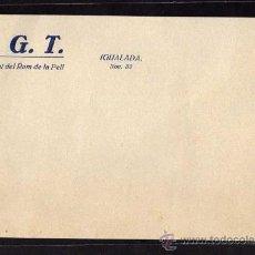 Militaria: IGUALADA - UGT SINDICAT DEL RAM DE LA PELL. Lote 10804768