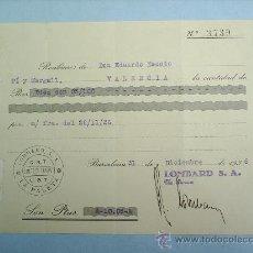 Militaria: COMITE DE CONTROL-CNT-UGT-VALENCIA- BARCELONA-DICIENBRE 1936-GUERRA CIVIL. Lote 17943117