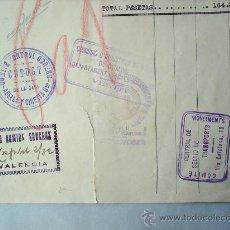 Militaria: COMITE CONTROL OBRERO-CNT-UGT-DICIEMBRE 1936-GUERRA CIVIL-BARCELONA -VALENCIA. Lote 18220902
