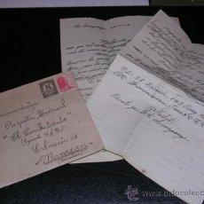 Militaria: SOBRE Y CARTA 2 HOJAS, GUERRA CIVIL 1938 MANDADA DESDE 55 DIVISION 178 BRIGADA MIXTA A MANRESA. Lote 13704281