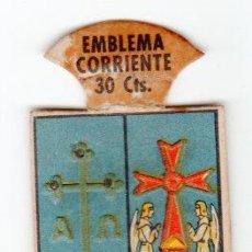 Militaria: EMBLEMA DE AUXILIO SOCIAL DE 30 CENTIMOS. SERIE B. Nº 8. ESCUDO DE ASTURIAS. Lote 13846868