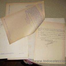 Militaria: 1936 GUERRA CIVIL EXPEDIENTE DE CONTROL DE EXISTENCIAS EN CAMPSA Y MULTAS A ENCARGADOS DE SURTIDORES. Lote 27234337