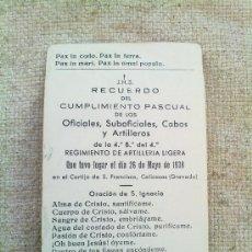 Militaria: ESQUELA COLECTIVA CAIDOS GUERRA CIVIL 1938 ,ORIGINAL. Lote 26272710