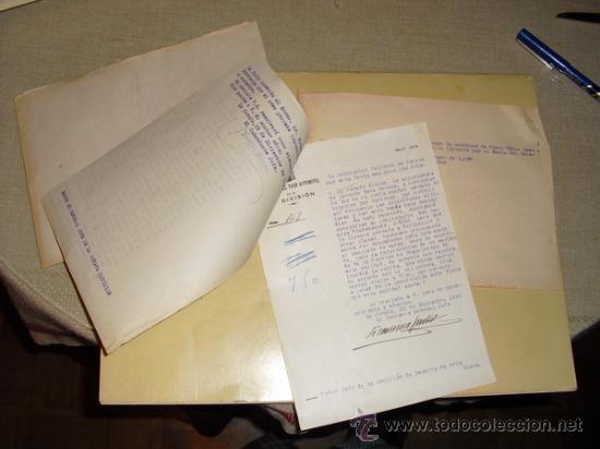 1937 GUERRA CIVIL EXPEDIENTE POR EXPORTACION ILEGAL DE PESCADO DESDE EL PUERTO DE VIGO (Militar - Guerra Civil Española)