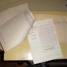 Militaria: 1937 GUERRA CIVIL EXPEDIENTE POR EXPORTACION ILEGAL DE PESCADO DESDE EL PUERTO DE VIGO. Lote 26702183