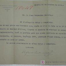 Militaria: REPÚBLICA DOCUMENTO DE LLAMADA AL SERVICIO MILITAR MADRID 1932.. Lote 25911878