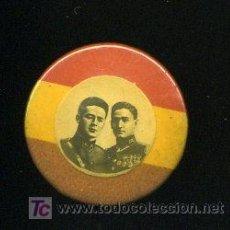 Militaria: PIN DE GARCIA HERNANDEZ Y FERMIN GALAN. MILITARES REPUBLICANOS.. Lote 27243383