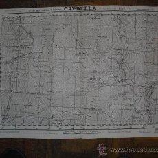 Militaria: 1938 GUERRA CIVIL MAPA MILITAR DE CAPDELLA( LÉRIDA) EDITADO EN BARCELONA. Lote 21671523