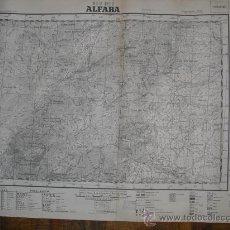 Militaria: 1938 GUERRA CIVIL MAPA MILITAR DE ALFARA (TARRAGONA). Lote 25000367