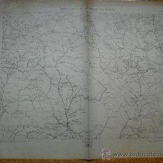 Militaria: 1938 GUERRA CIVIL MAPA MILITAR ITINERARIO HOJA 46 CUENCA ALBARRACIN HUETE. Lote 23923355